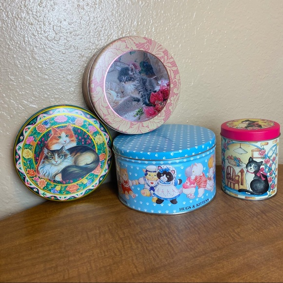Cats & Kittens Tin Canister Bundle